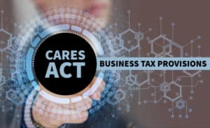 Business Tax Provisions of the CARES Act